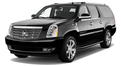 Black Lincoln Town Car Cadillac Escalade Chevy Suburban