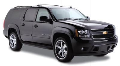 Black Lincoln Town Car Cadillac Escalade Chevy Suburban